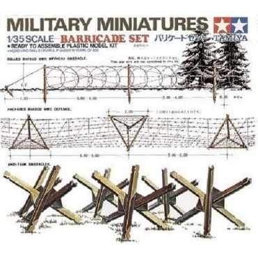 1/35 Barricades Set Model Kit