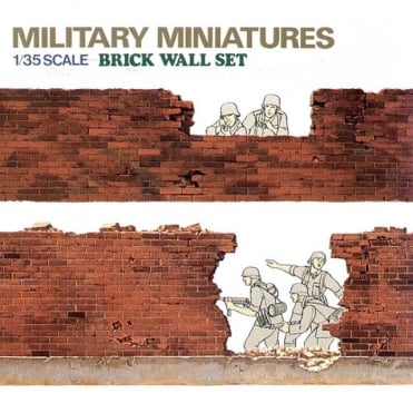 1/35 Brick Walls Set Model Kit