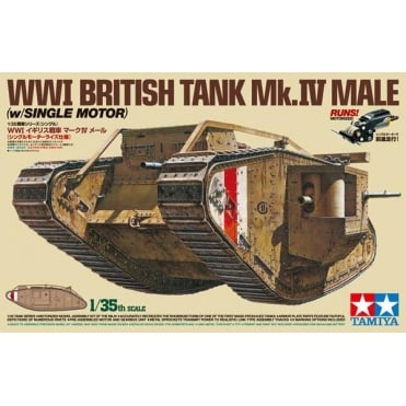 1/35 British MK IV Male WW1 Tank