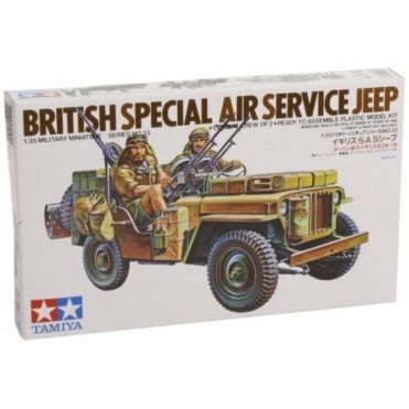 1/35 British SAS Jeep