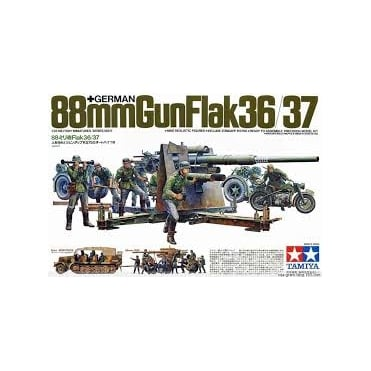1/35 German 88mm Gun Flak 36/37 Model Kit