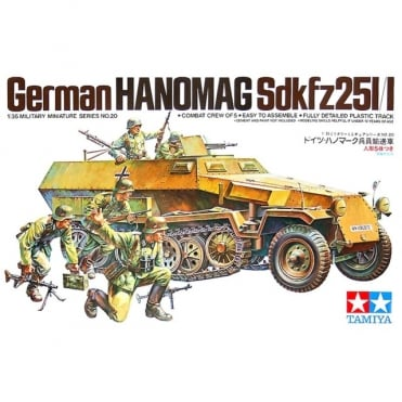 1/35 German Hanomag Sd.Kfz.251/1 Model Kit