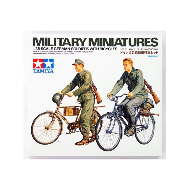 Tamiya 1/35 German Soldiers With Bicycles