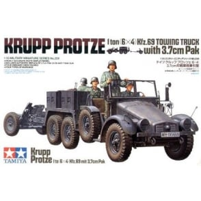 1/35 Krupp Towing Truck With 37Mm Pak