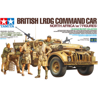 1/35 LRDG Car With 7 Figures