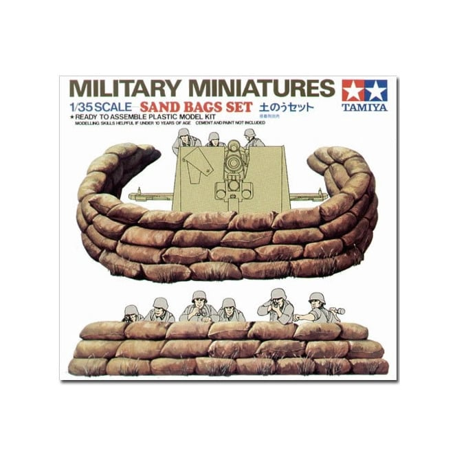 Tamiya 1/35 Sand Bags Set Model Kit