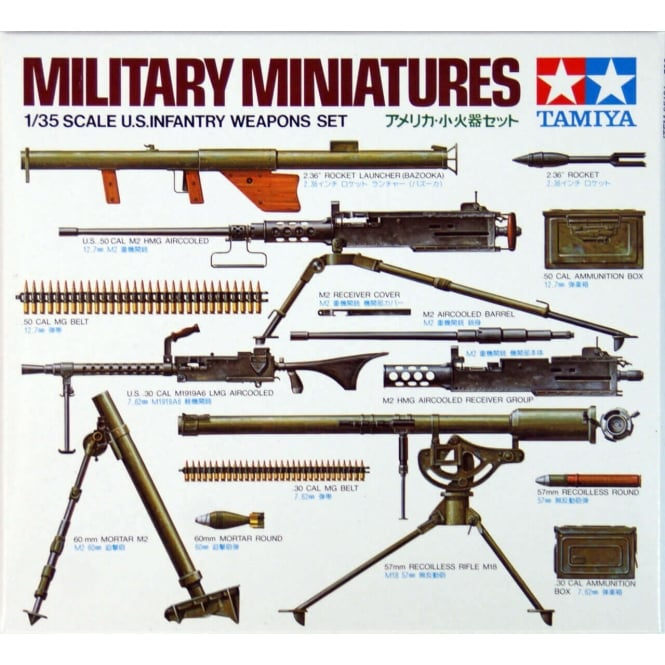 Tamiya 1/35 U.S. Infantry Weapons