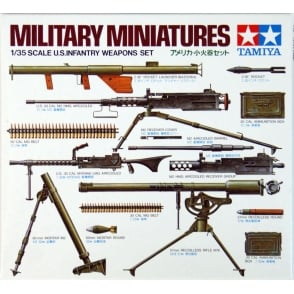 1/35 U.S. Infantry Weapons