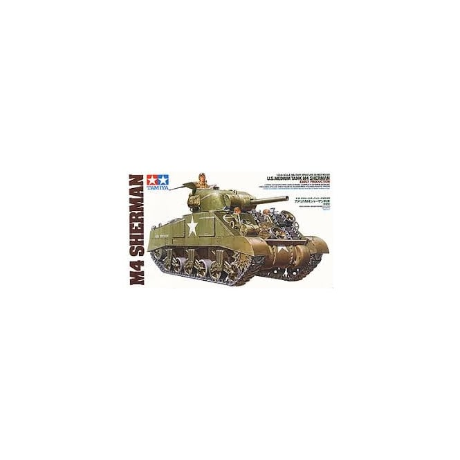 Tamiya 1/35 U.S. M4 Sherman (Early Production)