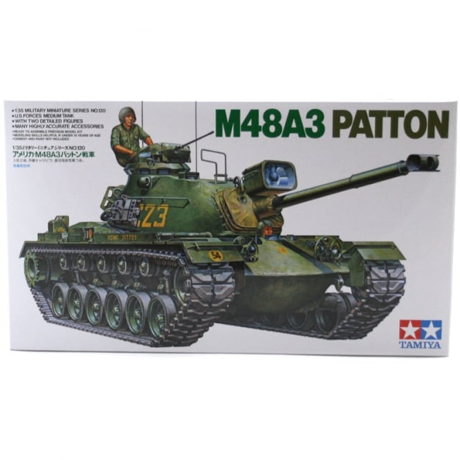 Tamiya 1/35 U.S. M48A3 Patton