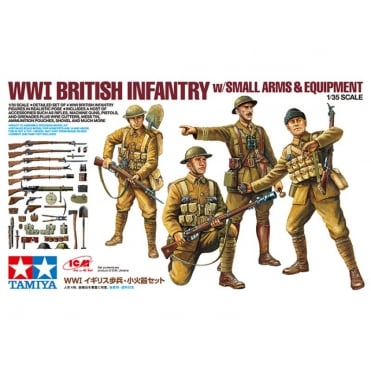 1/35 WW1British Infantry & Equipment