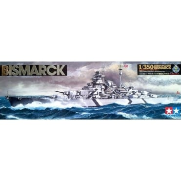 1/350 German Bismarck With Stand