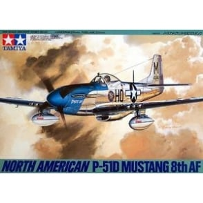 1/48 N.A.P-51D Mustang 8th Air Force