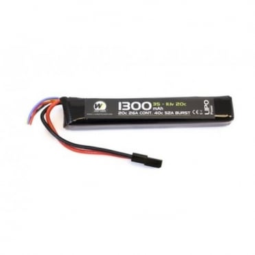 1300MAH 11.1V 20C Stick Type