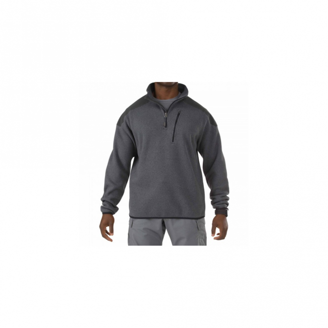 5.11 Tactical 1/4 Zip Sweater - Gun Powder