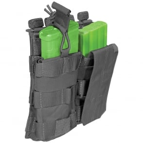 5.11 Tactical AR Mag Pouch with Cover Double - Storm
