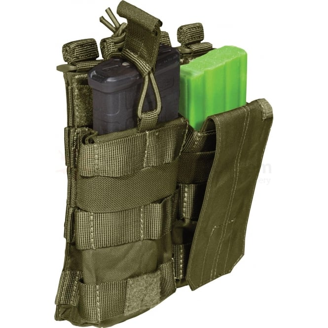5.11 Tactical AR Mag Pouch with Cover Double - Tac OD (Olive Drab)