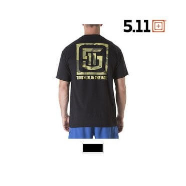 5.11 Tactical Box Camo T-Shirt Black
