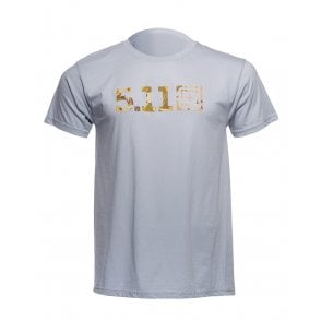 5.11 Tactical Camo Fill Tee - Silver