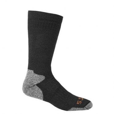 5.11 Tactical Cold Weather OTC Merino Sock - Black L/XL