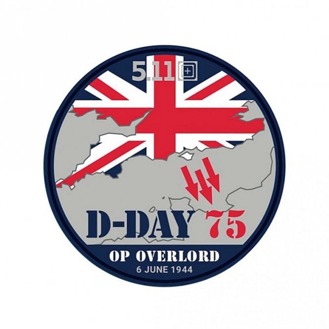 """5.11 Tactical """"D-Day"""" 75th Anniversary Patch - Limited Edition"""