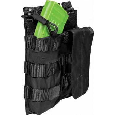 5.11 Tactical Double AK Magazine Bungee Pouch - Black