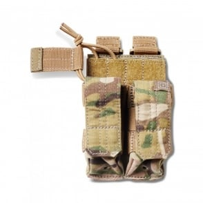5.11 Tactical Double Pistol Bungee Pouch Multicam