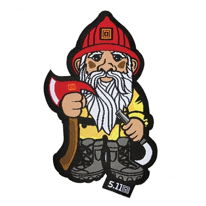 5.11 Tactical FireFighter Gnome Patch