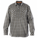 5.11 Tactical Flannel Long Sleeve Shirt - Storm