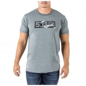 5.11 Tactical Legacy Razzle Dazzle Tee - Ash Heather