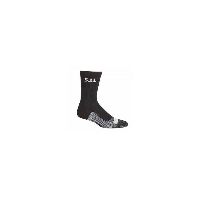 "5.11 Tactical Level I 6"" Sock - Black"