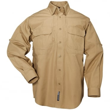 5.11 Tactical Long Sleeved Shirt - Coyote