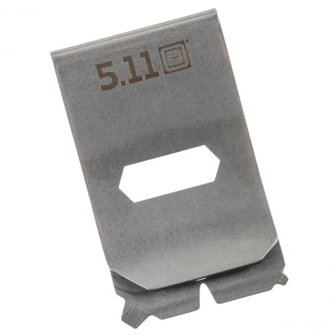 5.11 Tactical Multitool Money Clip - Tumbled Steel