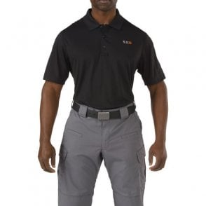 5.11 Tactical Pinnacle Polo Shirt - Black