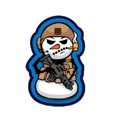5.11 Tactical Snowman Land Limited Edition Christmas Patch - Pre-Order
