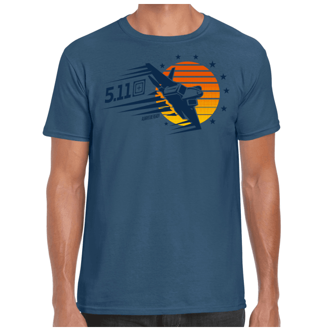 5.11 Tactical Sunset Firepower Short Sleeved Tee
