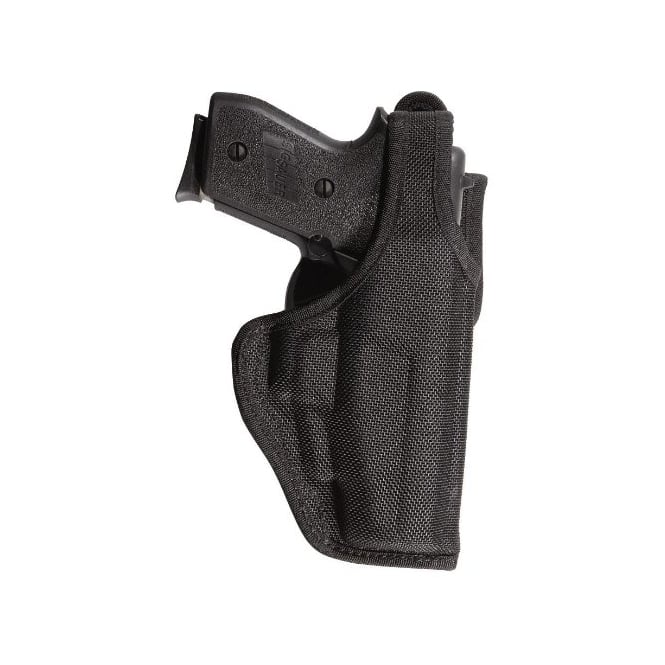 Bianchi 7120 AccuMold Defender Duty Holster Black LH Size 13 for Glock 17, 18, 19.