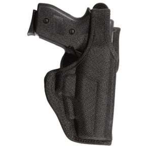 7120 AccuMold Defender Duty Holster Black LH Size 13 for Glock 17, 18, 19.