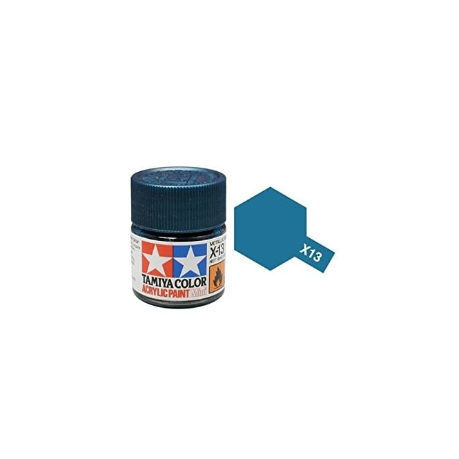 Tamiya Acrylic Paint Mini X-13 Metallic Blue