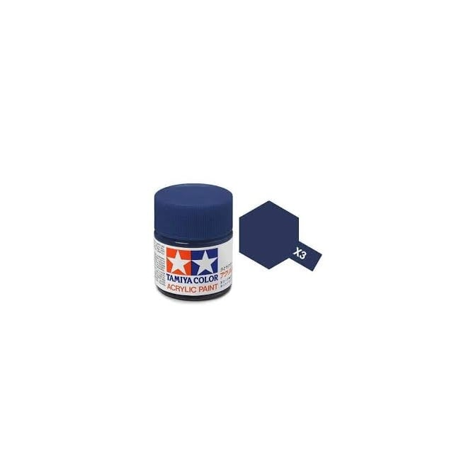 Tamiya Acrylic Paint Mini X-3 Royal Blue