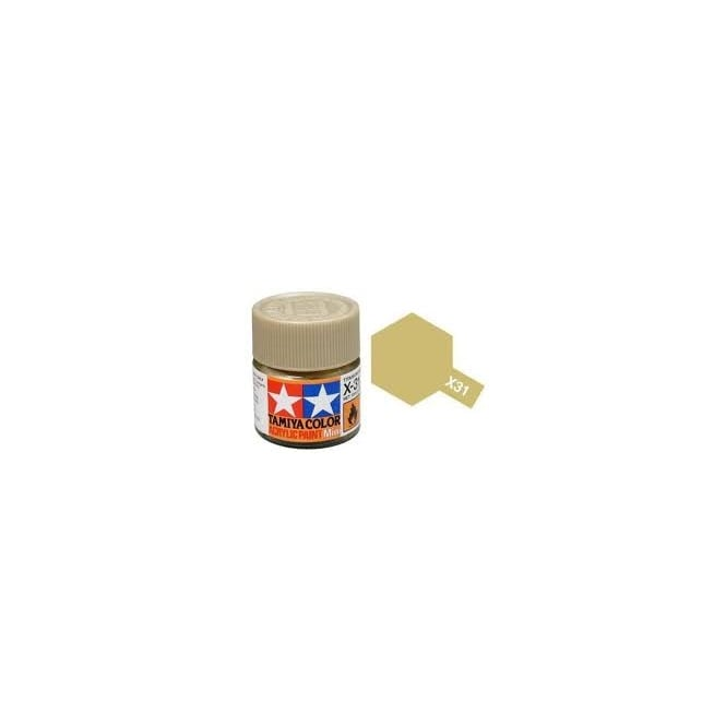 Tamiya Acrylic Paint Mini X-31 Titan Gold