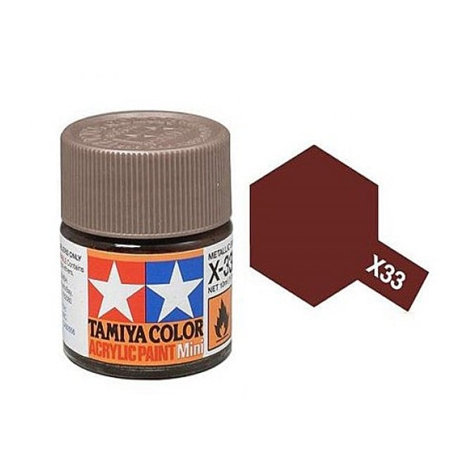 Tamiya Acrylic Paint Mini X-33 Bronze