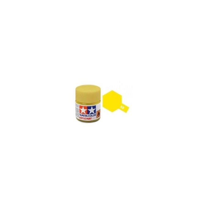 Tamiya Acrylic Paint Mini X-8 Lemon Yellow