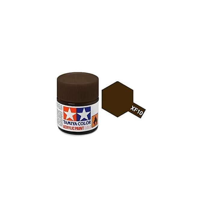 Tamiya Acrylic Paint Mini XF-10 Flat Brown