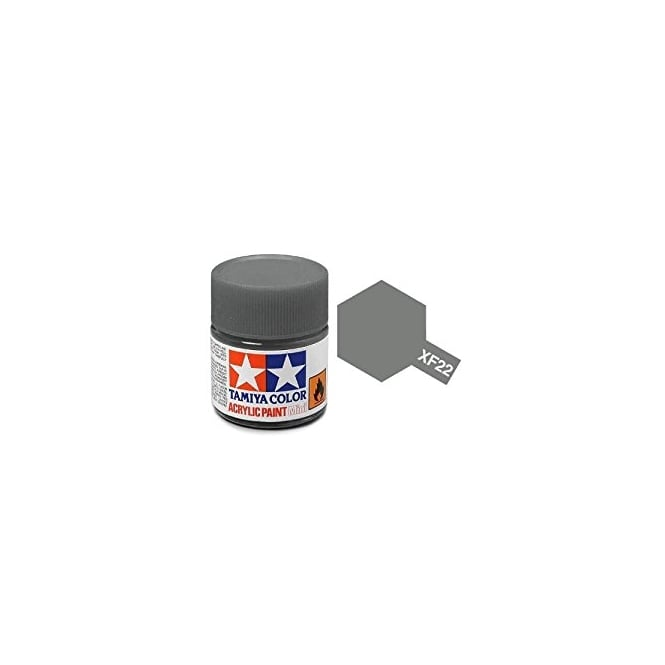 Tamiya Acrylic Paint Mini XF-22 Rlm Grey
