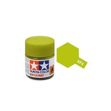 Acrylic Paint Mini XF-4 Yellow Green