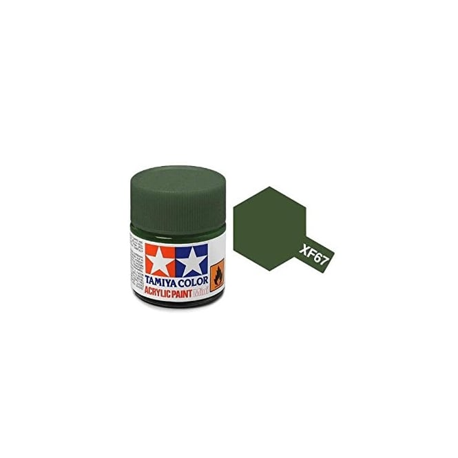 Tamiya Acrylic Paint Mini XF-67 Nato Green
