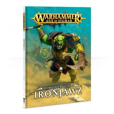 Age of Sigmar : Destruction Battletome : Ironjawz