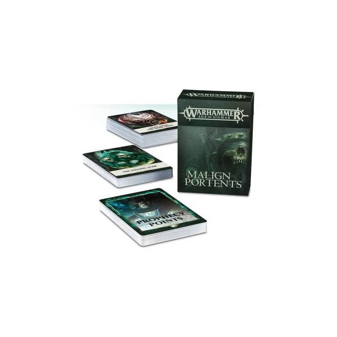 Games Workshop Age Of Sigmar : Malign Protents Data Cards