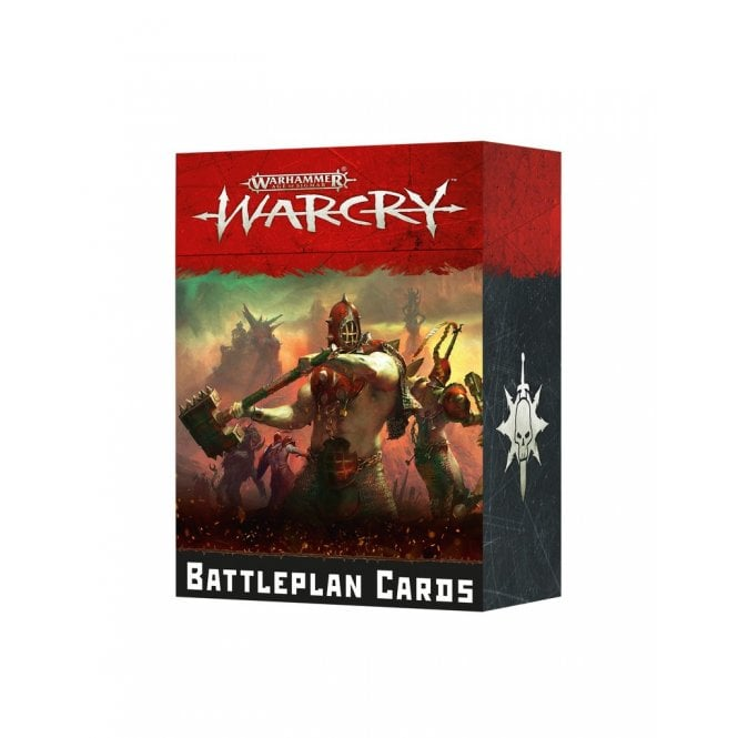 Games Workshop Age of Sigmar WARCRY : Battleplan Cards